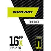 Nishiki Schrader Valve 16'' 1.75-2.25 Bike Tube