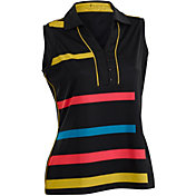 Nancy Lopez Women's Blast Sleeveless Golf Polo