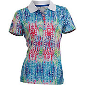 Nancy Lopez Women's Birdie Golf Polo – Plus-Size