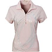 Nancy Lopez Women's Dance Golf Polo – Plus-Size