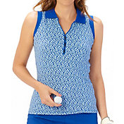 Nancy Lopez Women's Dream Sleeveless Golf Polo