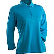 Nancy Lopez Women's Grace Three-Quarter Sleeve Golf Polo