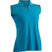 Nancy Lopez Women's Grace Sleeveless Golf Polo