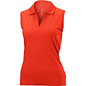 Nancy Lopez Women's Luster Sleeveless Golf Polo