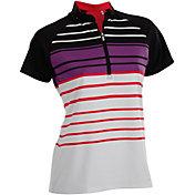 Nancy Lopez Women's Point Golf Polo – Plus-Size
