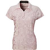 Nancy Lopez Women's Ribbon Golf Polo – Plus-Size