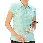 Nancy Lopez Women's Ribbon Golf Polo