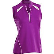 Nancy Lopez Women's Sporty Sleeveless Golf Polo