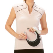 Nancy Lopez Women's Tender Sleeveless Golf Polo