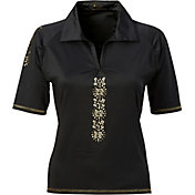 Nancy Lopez Women's Attract Golf Polo – Plus-Size