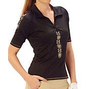Nancy Lopez Women's Attract Golf Polo – Plus-Size