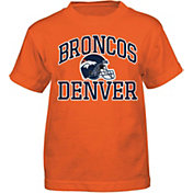NFL Team Apparel Boys' Denver Broncos Play Action T-Shirt
