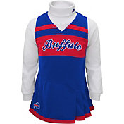 NFL Team Apparel Girls' Buffalo Bills Cheer Jumper Dress