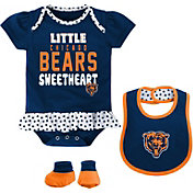 NFL Team Apparel Infant Chicago Bears Bib & Booty Set