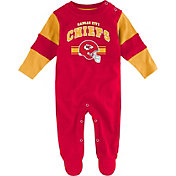NFL Team Apparel Infant's Kansas City Chiefs Newborn Coverall