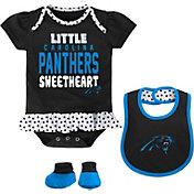 NFL Team Apparel Infant Carolina Panthers Bib & Booty Set