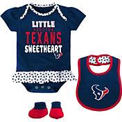 NFL Team Apparel Infant Houston Texans Bib & Booty Set