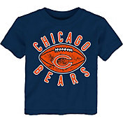 NFL Team Apparel Toddler Chicago Bears Place Kicker T-Shirt
