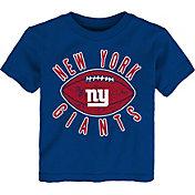NFL Team Apparel Toddler New York Giants Place Kicker T-Shirt