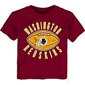 NFL Team Apparel Toddler Washington Redskins Place Kicker T-Shirt