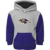 NFL Team Apparel Toddler Baltimore Ravens Standard Purple Hoodie