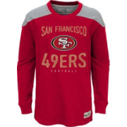NFL Team Apparel Youth San Francisco 49ers Legend Red Long Sleeve Shirt