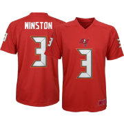 NFL Team Apparel Youth Tampa Bay Buccaneers Jameis Winston #3 Red T-Shirt