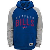 NFL Team Apparel Youth Buffalo Bills Foundation Blue Hoodie