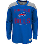 NFL Team Apparel Youth Buffalo Bills Legend Blue Long Sleeve Shirt
