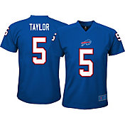 NFL Team Apparel Youth Buffalo Bills Tyrod Taylor #5 Royal T-Shirt