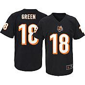 NFL Team Apparel Youth Cincinnati Bengals A.J. Green #18 Black T-Shirt