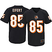 NFL Team Apparel Youth Cincinnati Bengals Tyler Eifert #85 Black T-Shirt