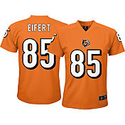 NFL Team Apparel Youth Cincinnati Bengals Tyler Eifert #85 Orange T-Shirt