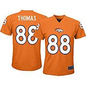 NFL Team Apparel Youth Denver Broncos Demaryius Thomas #88 Orange T-Shirt