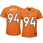 NFL Team Apparel Youth Denver Broncos DeMarcus Ware #94 Orange Performance T-Shirt