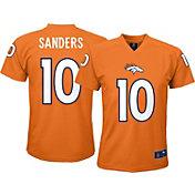 NFL Team Apparel Youth Denver Broncos Emmanuel Sanders #10 Orange T-Shirt
