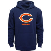 NFL Team Apparel Youth Chicago Bears Championship Gold Navy Hoodie