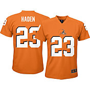 NFL Team Apparel Youth Cleveland Browns Joe Haden Orange #23 T-Shirt