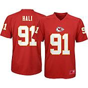 NFL Team Apparel Youth Kansas City Chiefs Tamba Hali #91 Red T-Shirt