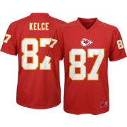 NFL Team Apparel Youth Kansas City Chiefs Travis Kelce #87 Performance Red T-Shirt