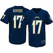 NFL Team Apparel Youth Los Angeles Chargers Philip Rivers #17 Navy T-Shirt