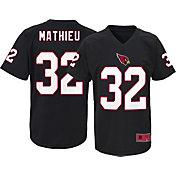 NFL Team Apparel Youth Arizona Cardinals Tyrann Mathieu #32 Black T-Shirt
