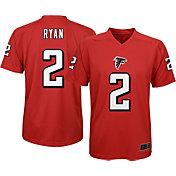 NFL Team Apparel Youth Atlanta Falcons Matt Ryan #2 Red T-Shirt
