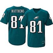 NFL Team Apparel Youth Philadelphia Eagles Jordan Matthews #81 Green T-Shirt