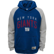 NFL Team Apparel Youth New York Giants Foundation Blue Hoodie