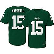 NFL Team Apparel Youth New York Jets Brandon Marshall #15 Green T-Shirt