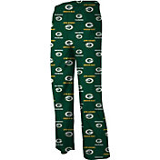NFL Team Apparel Youth Green Bay Packers Jersey Green Print Pants