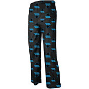NFL Team Apparel Youth Carolina Panthers Team Print Black Jersey Pants