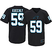 NFL Team Apparel Youth Carolina Panthers Luke Kuechly #59 Black T-Shirt