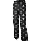 NFL Team Apparel Youth Oakland Raiders Dorm Black Pants